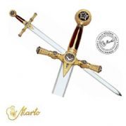 Luxury Golden Masonic Sword